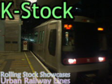 Galleries -> Rolling Stock Showcases (Urban Railway Lines K-Stock)
