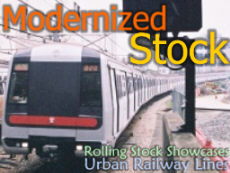 Galleries -> Rolling Stock Showcases (Urban Railway Lines Modernized Stock)